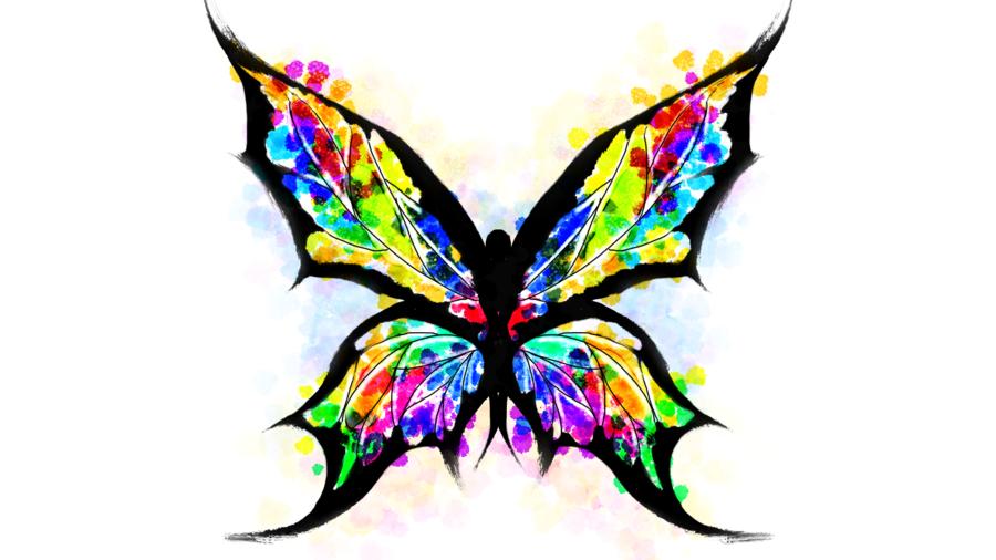 Butterfly Tattoo Splatter By Preosmo Butterfly Tattoo Paint Splatter Tattoo Picture Tattoos