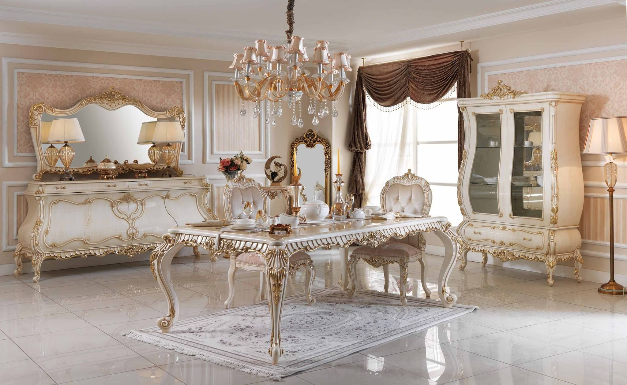 Pin by Jenny Classical on Luxury Dining Room Pinterest