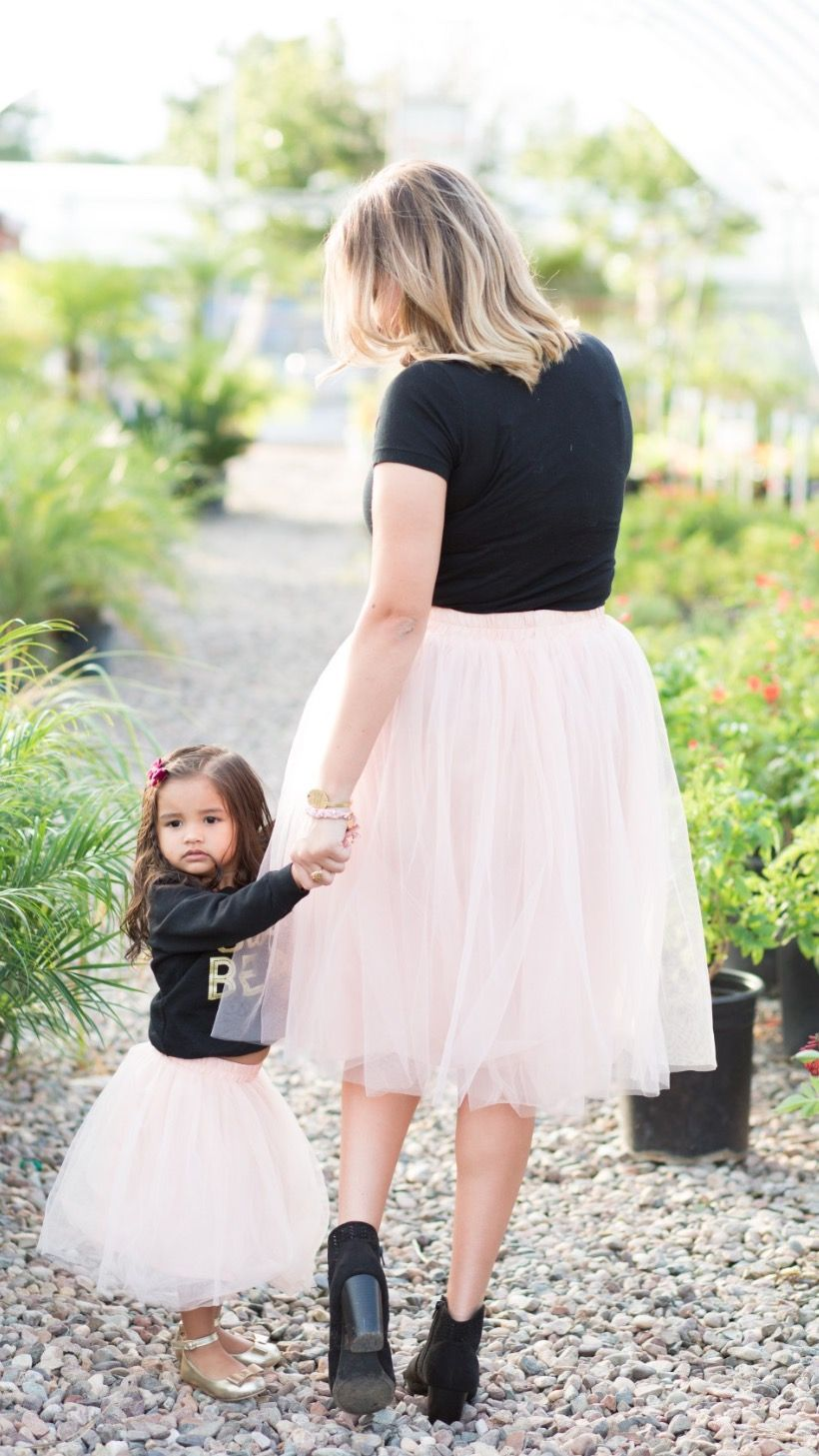 Mommy and me outfits dresses skirts Tulle Skirts 0041566bb71f