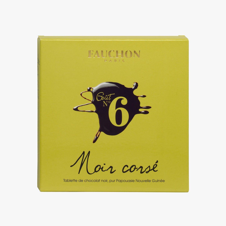 Tablette De Chocolat Noir Corse