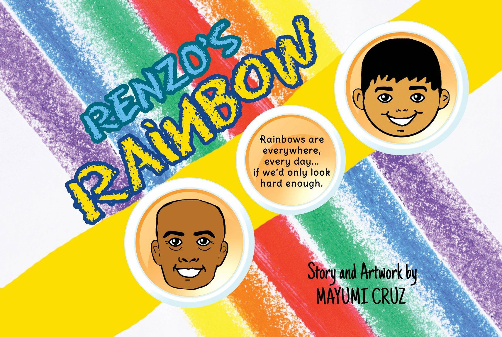 My first Childrenus Picture Book Renzous Rainbow Pinterest