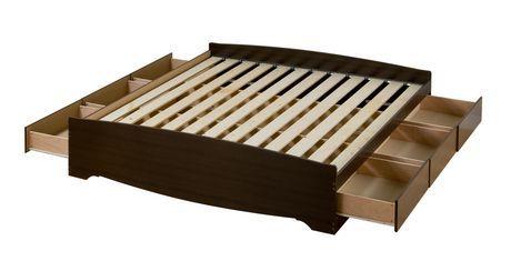 Base de lit Matelot format tr¨s grand avec 6 tiroirs de rangement