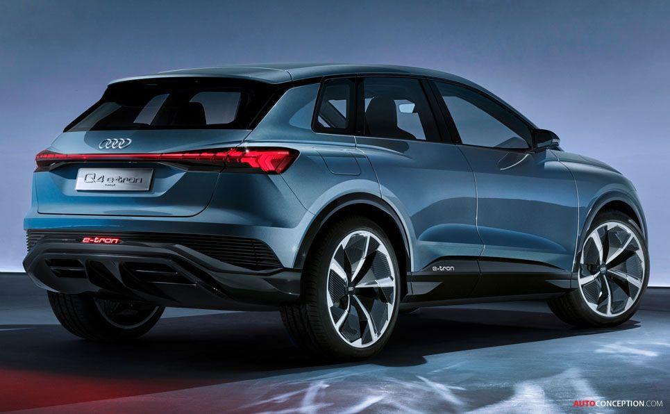 2019 Audi Q4 E Tron Concept Audi Q4 E Tron Ev Suv