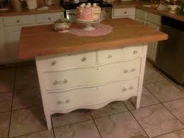 Old Dresser Kitchen Island