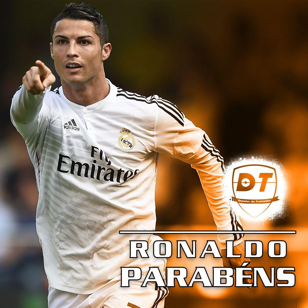 Hoje é o Aniversário de Cristiano Ronaldo!!! Cristiano