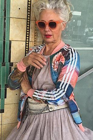 Woman, 62, opens up about how she became a fashion
