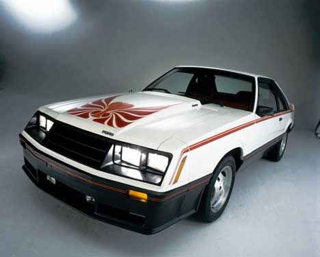 1980 Ford Mustang Cobra 2 3l Turbo 4 Rated 120 Hp