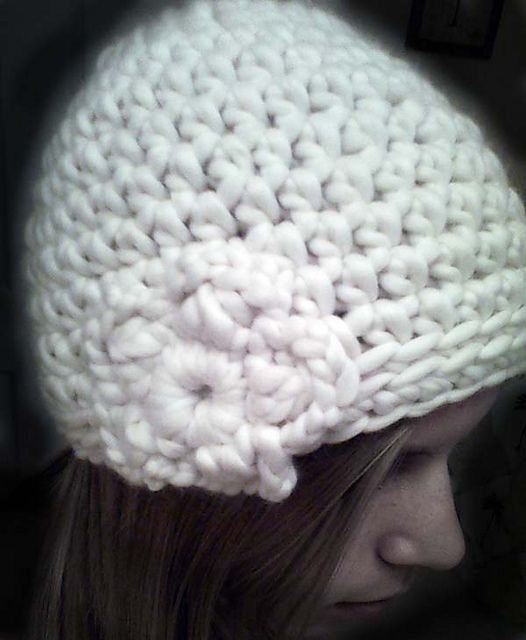Ravelry: Chunky Girly Snow Hat pattern by Ruby & Juniper free ...