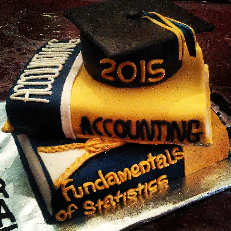 Accounting Major Graduation Cake Graduation Cakes Accounting