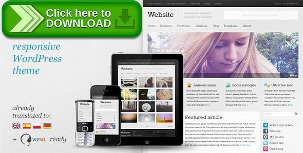 free nulled website responsive wordpress theme download