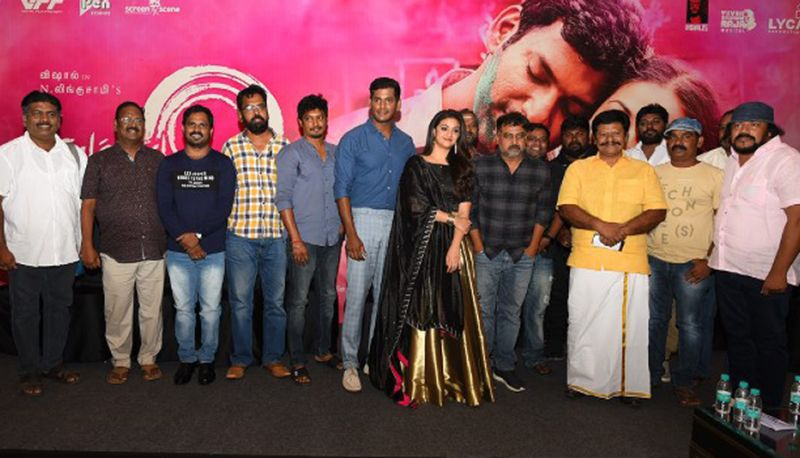 Actor Vishal Sandakozhi 2 Movie Press Meet