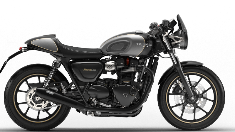 triumph street cup 2016 full black made with configurator true cafe racers pinterest cups. Black Bedroom Furniture Sets. Home Design Ideas