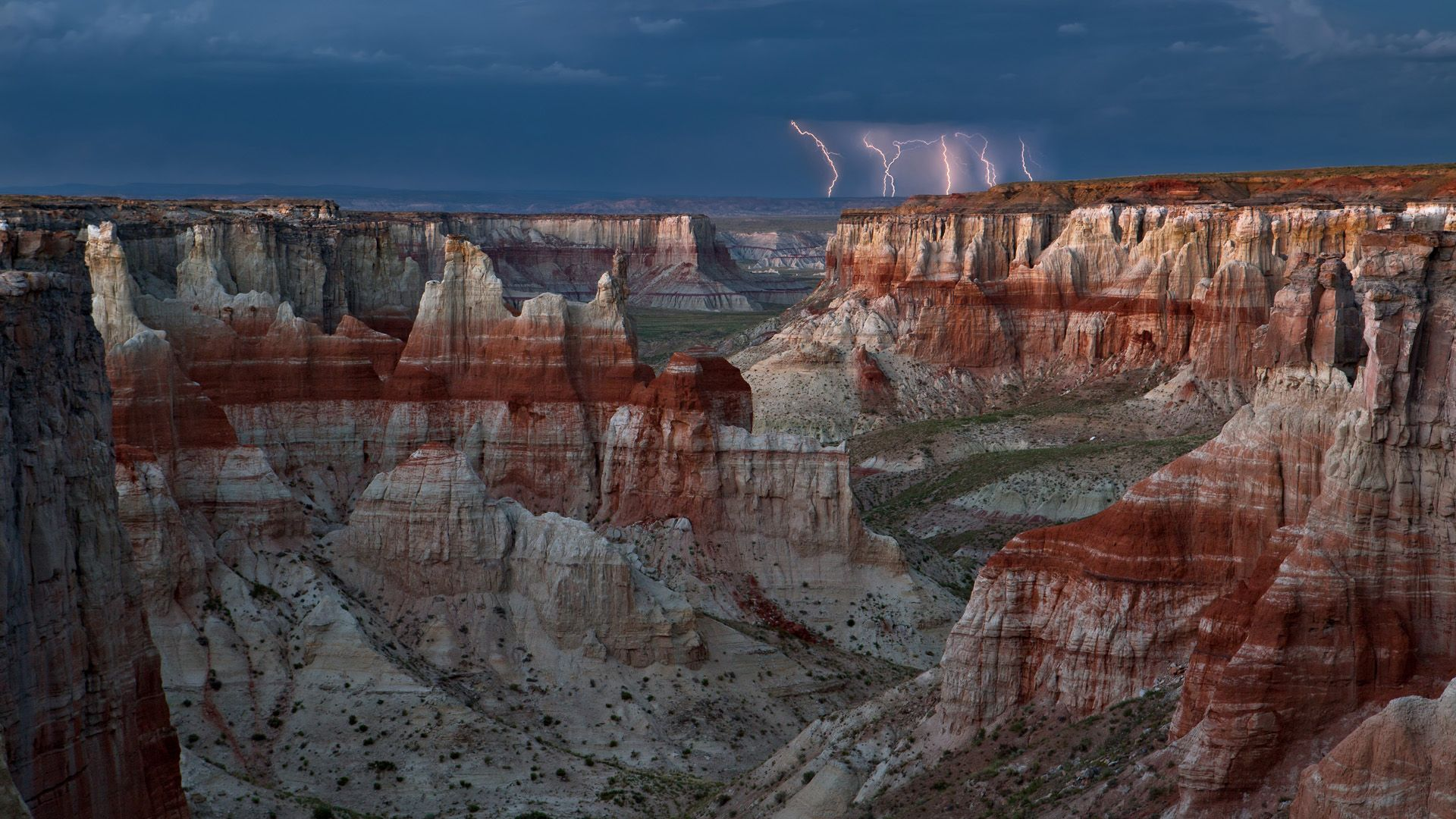 storm over coal mine canyon hd wallpapers navajo nation
