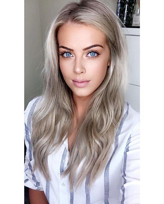 Chloe Boucher Have You Seen My Newest Youtube Video Work Office College School Makeup Tutorial Link Is In My Bio Blonde Hair Makeup Beauty Makeup Looks