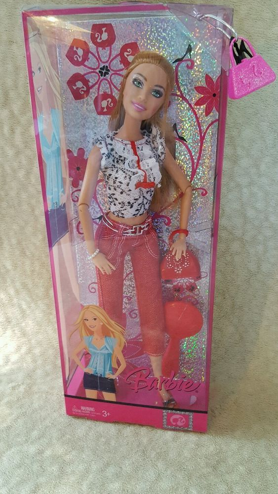 New Fashion Fever Barbie Doll J1326 Modern Trends Collection