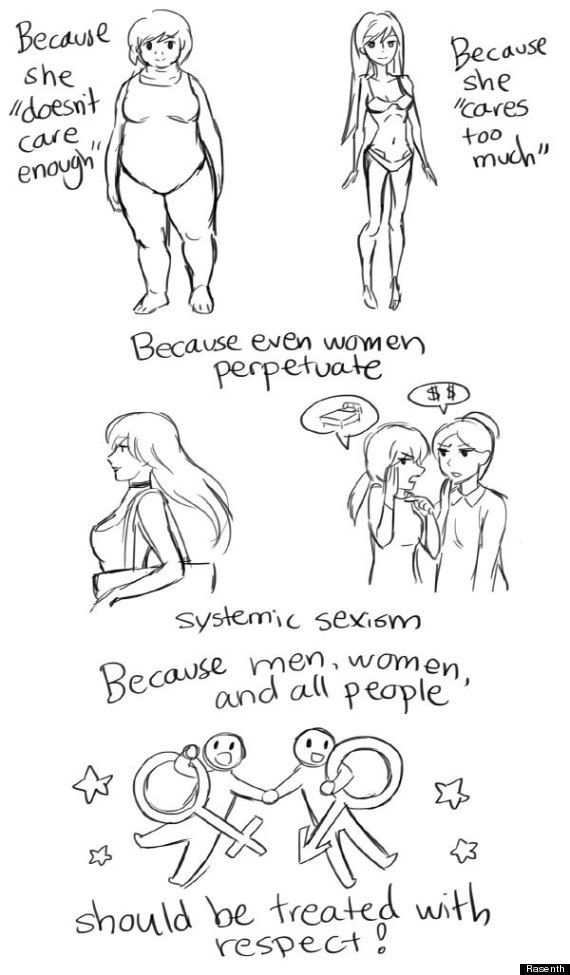 This Comic Perfectly Captures How Feminism Helps Everyone