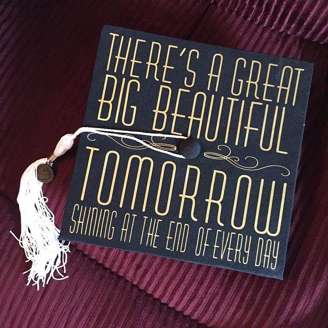 Pinterest: @ItzKimKim | Graduation caps | Grad cap ...