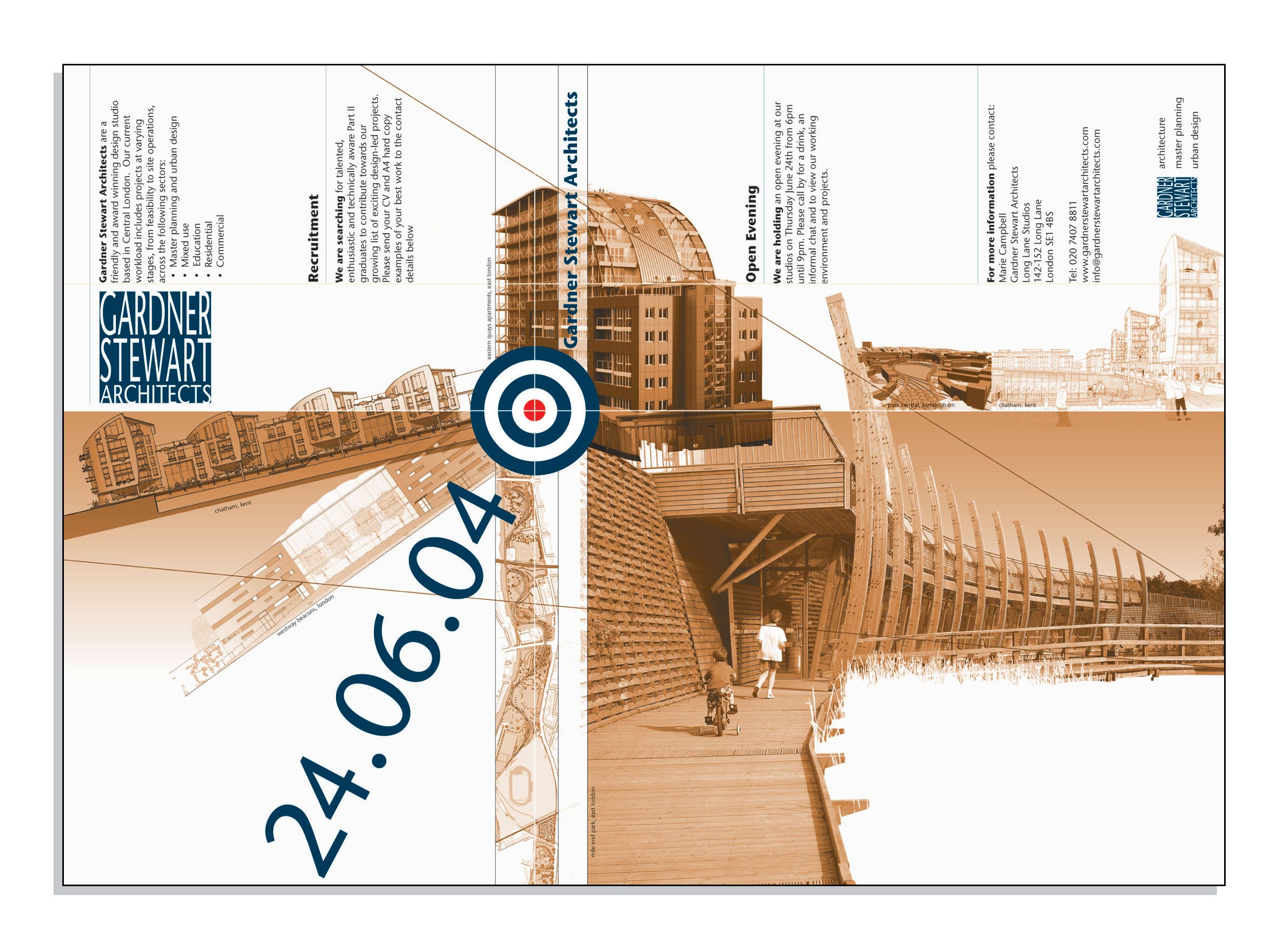 Poster design for architecture - Open Day Posters Final Jpg 2480 1830