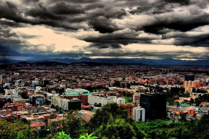 Bogota Landscape Colombia Wallpapers Best Pictures Ever