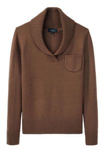 Chale pullover sweater (Tabac). $310