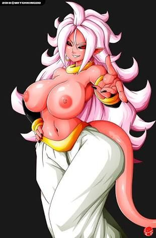Big Ass Android Bitch In Love Dragon Ball Hentai
