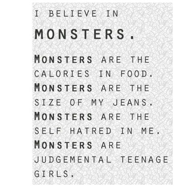 Anorexia Quotes Beauteous Monsters  Dark Sad & Beautiful  Pinterest  Monsters Loss