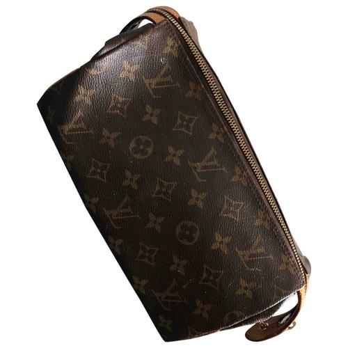 Cloth Small Bag Louis Vuitton Brown In Cloth 8021412 In 2020 Louis Vuitton Vuitton Bags