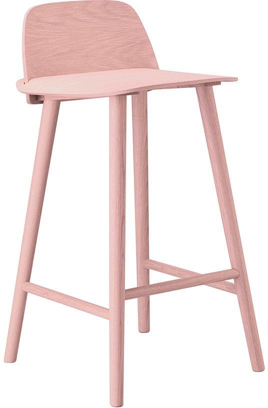 Muuto Nerd High Bar Stool - Rose   Muuto Furniture // #design ...