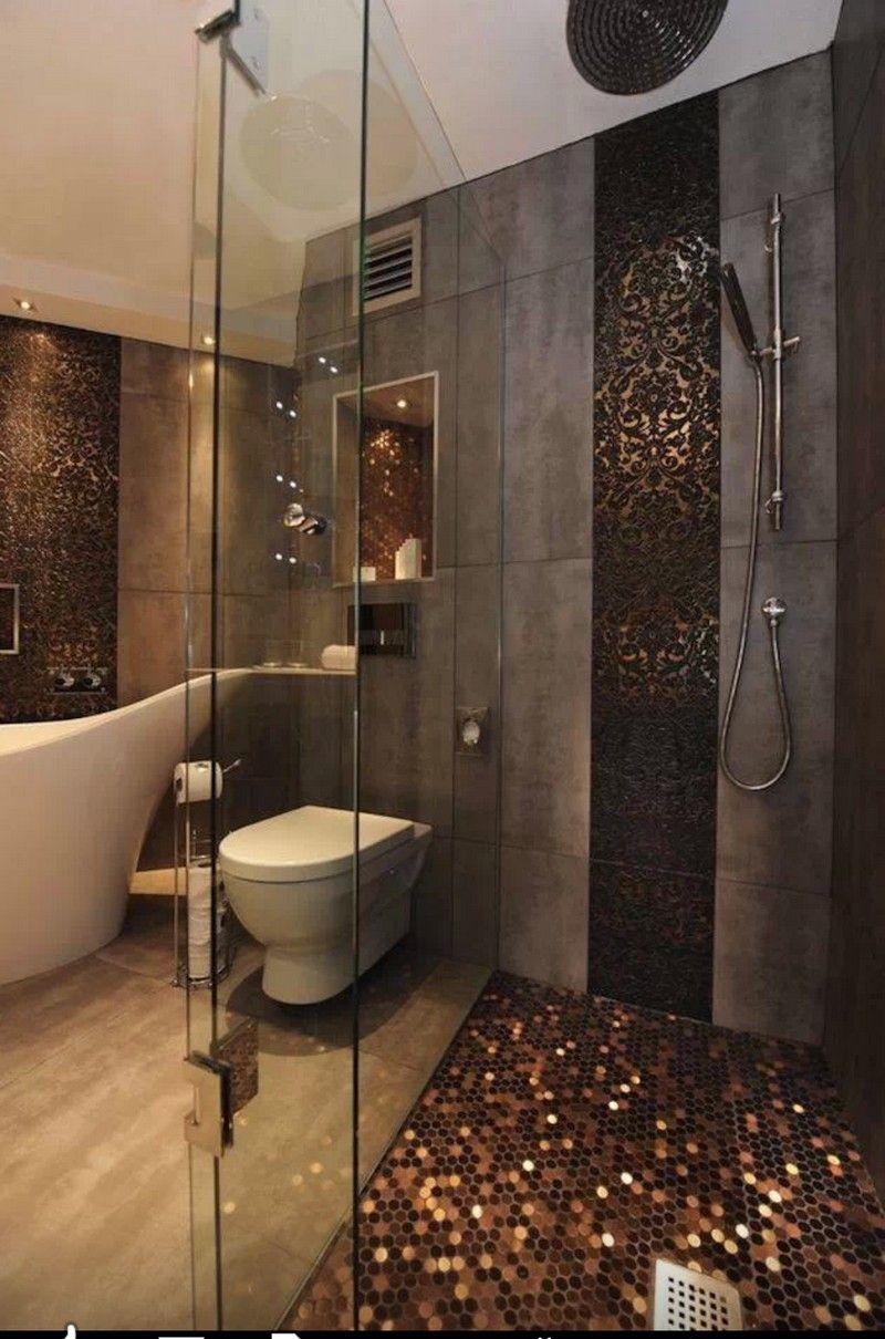 rsultat de recherche dimages pour salle de bain design grise cuivre - Salle De Bain Cuivre