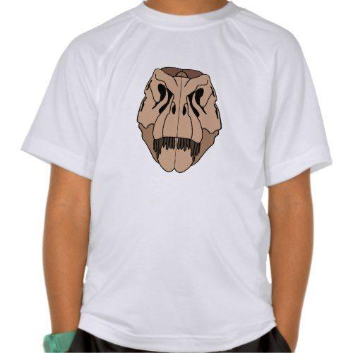 T-Rex (Tyrannosaurus rex) skull T-shirt