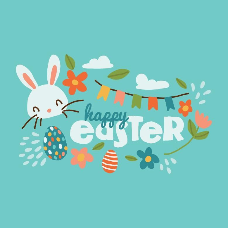 Free Stock Photo Of Cute Easter Background Vector Illustration Easter Images Easter Backgrounds Easter Images Free