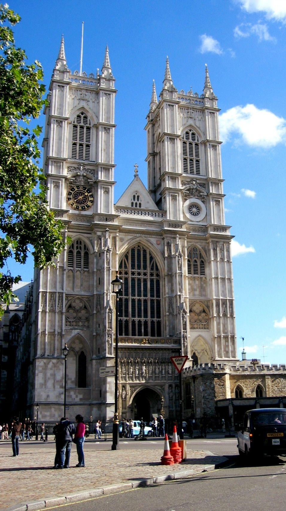 Westminster Abbey British Coming