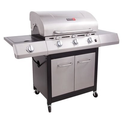 Char Broil Infrared 3 Burner Gas Grill With Cabinets