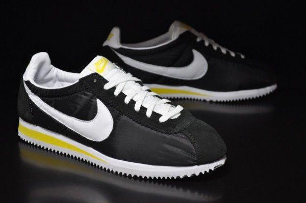 Nike fashion, Nike cortez black, Nike