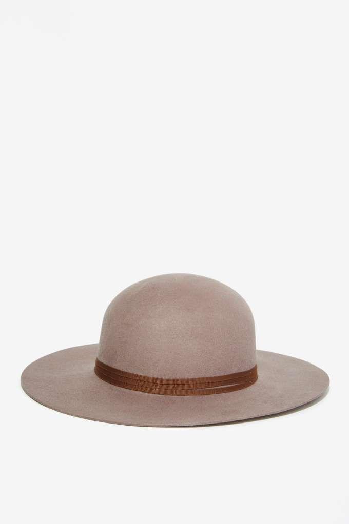 Brixton Magdalena Wool Hat - Gray  76544e134d76