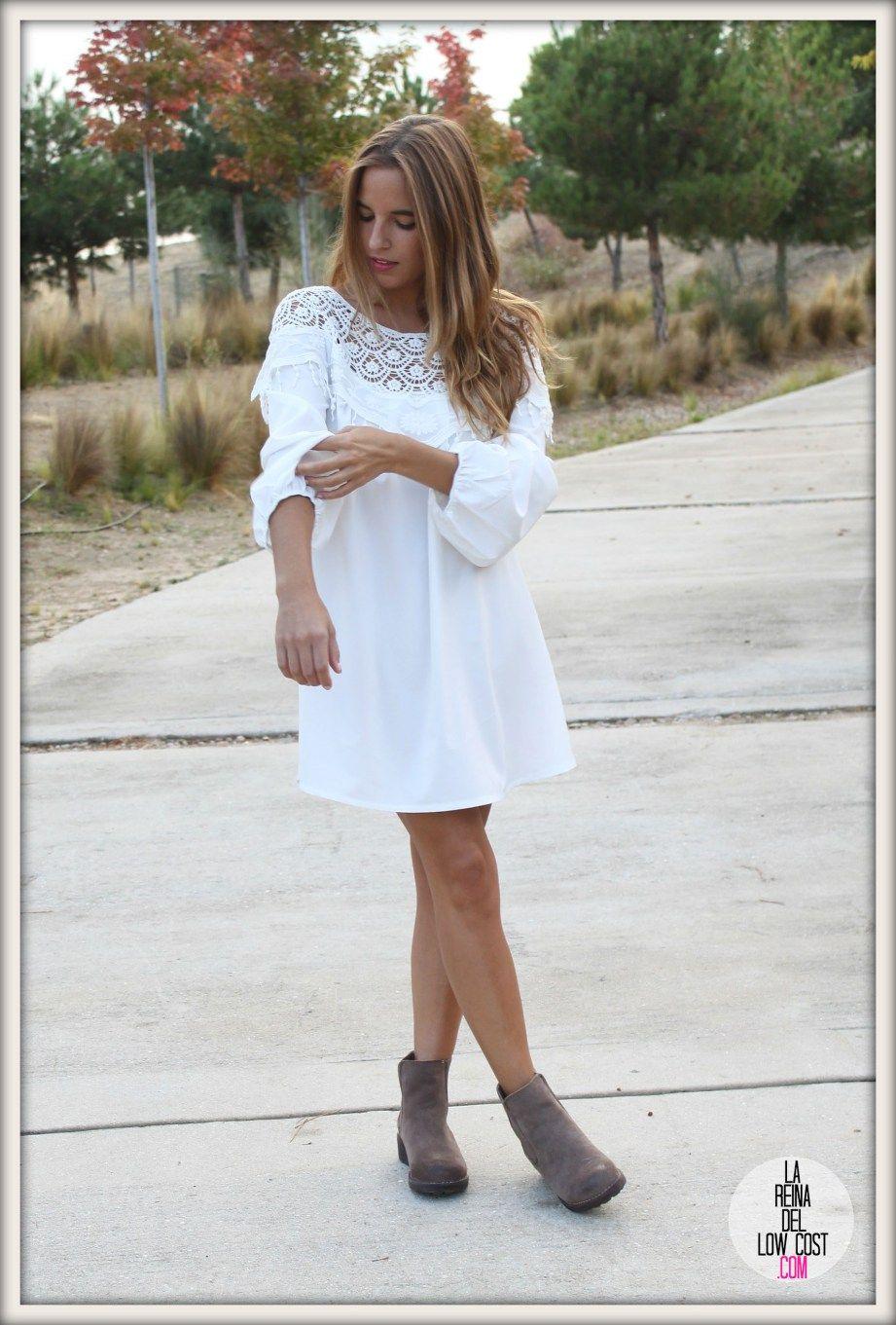 e25814a42805 la reina del low cost pilar pascual del riquelme vestido blanco ...