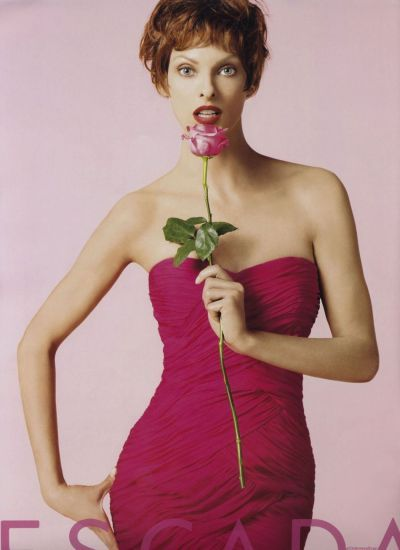 Linda Evangelista for Escada