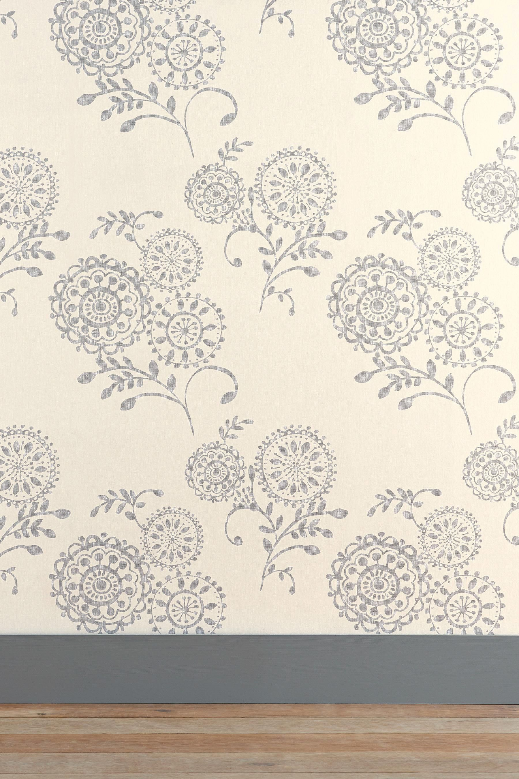 Buy Collection Glitter Wide Stripe Wallpaper from the Next