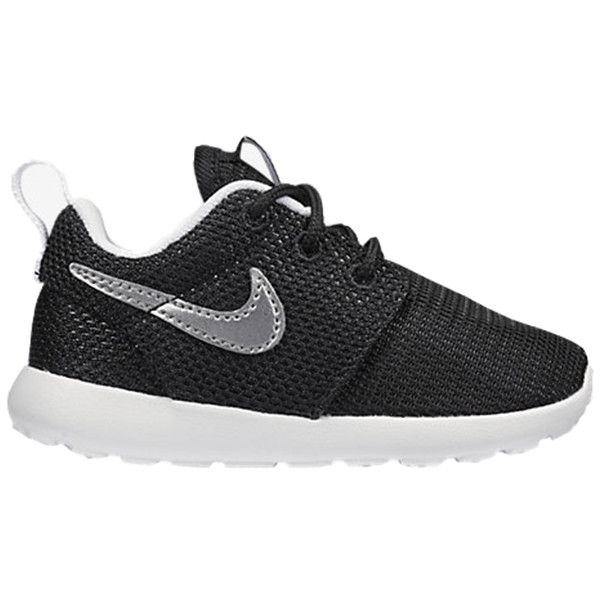 separation shoes 7a846 28408 Mini Nike Toddler Roshe Run ($50) ❤ liked on Polyvore ...