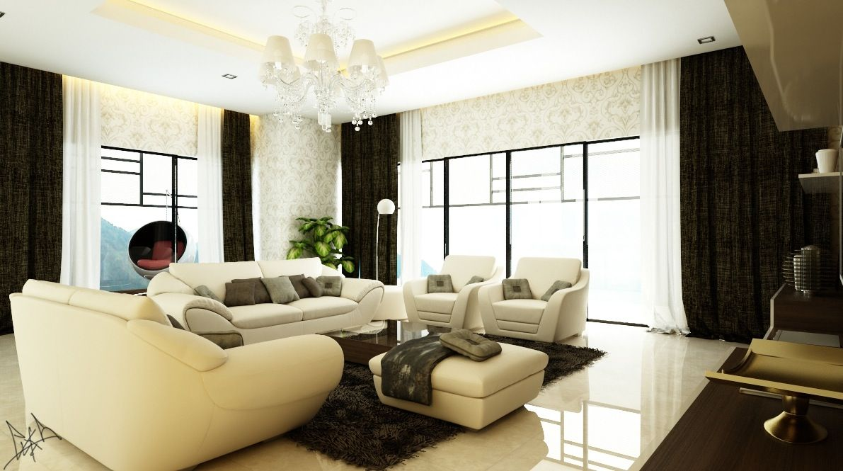 Living Room:Awesome Living Room Modern Sofa Design With Cushion ...