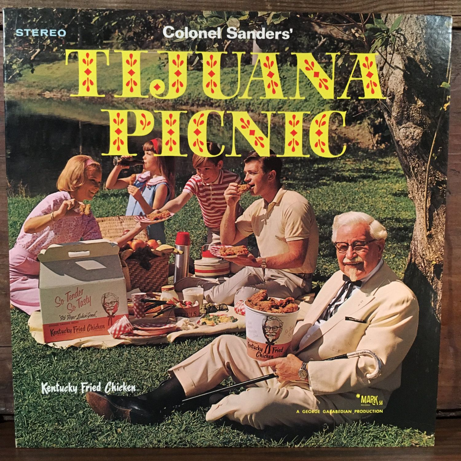 Colonel Sanders' Tijuana Picnic Vinyl LP 1968 Mark56 Records Kentucky Fried…