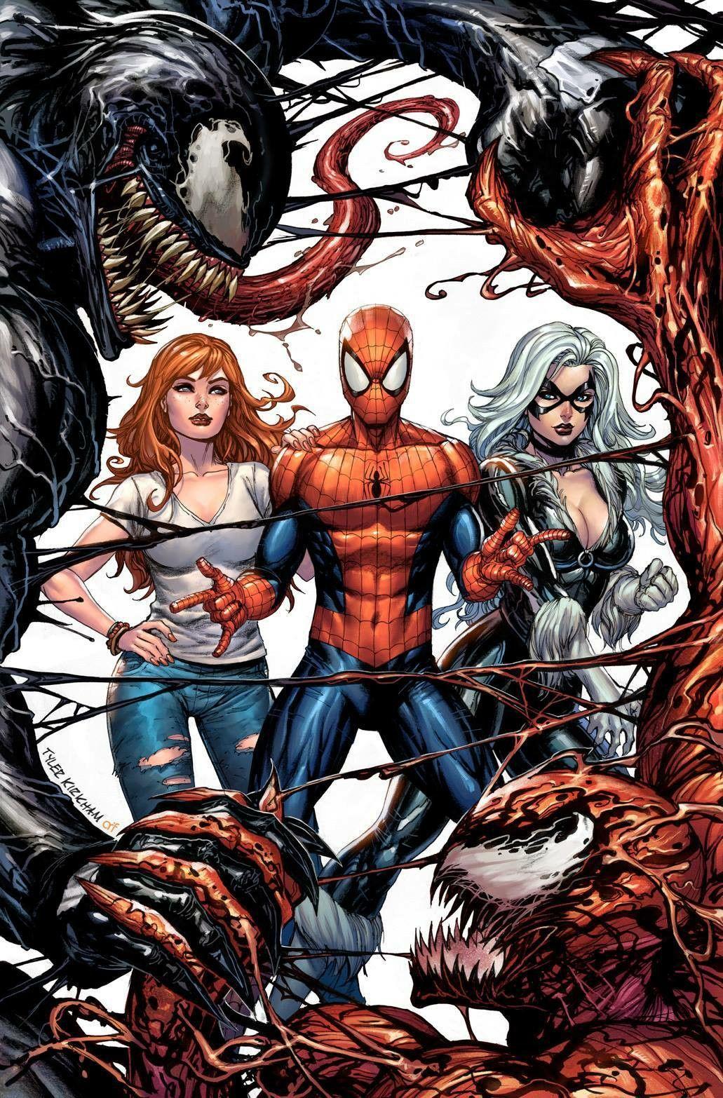 Spider man and mary jane venom pity