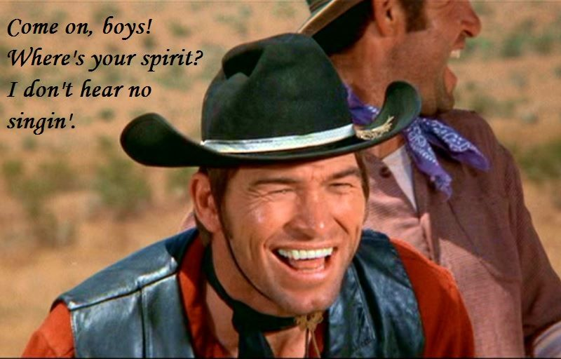 Burton Gilliam As Lyle In Blazing Saddles At The Movies