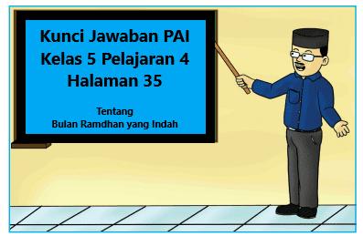 Kunci Jawaban Pai Kelas 5 Pelajaran 4 Halaman 35 Kurikulum Halaman Buku