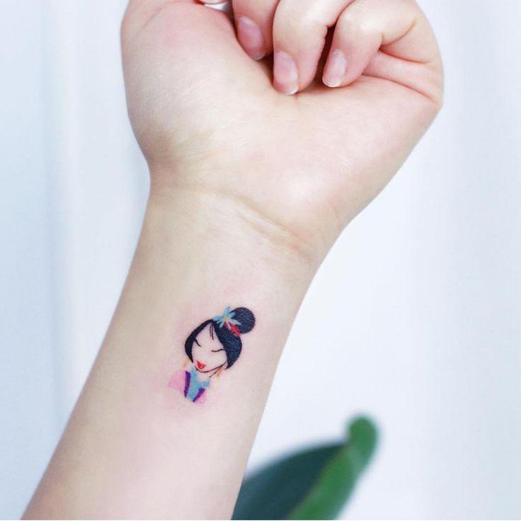 Photo of Small and beautiful piece by @tattooist_ilwol  #disney #tattoos #disneytattoo #m…