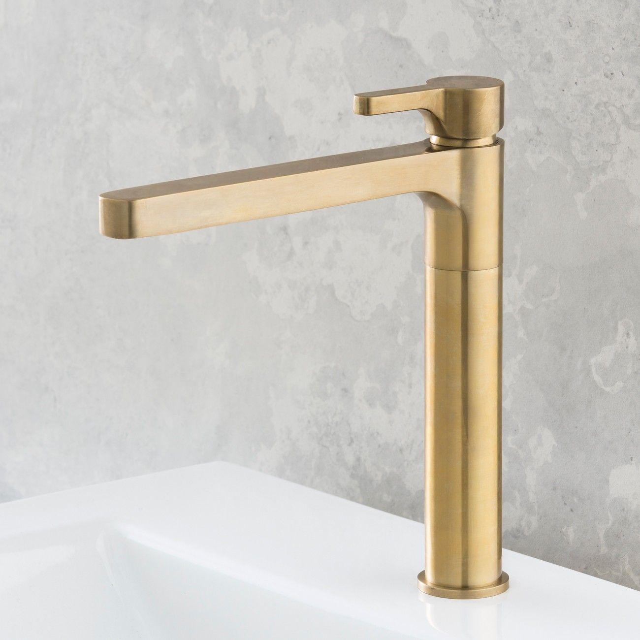 rogerseller arq kitchen sink mixer burnished brass rogerseller - Brass Kitchen Sink