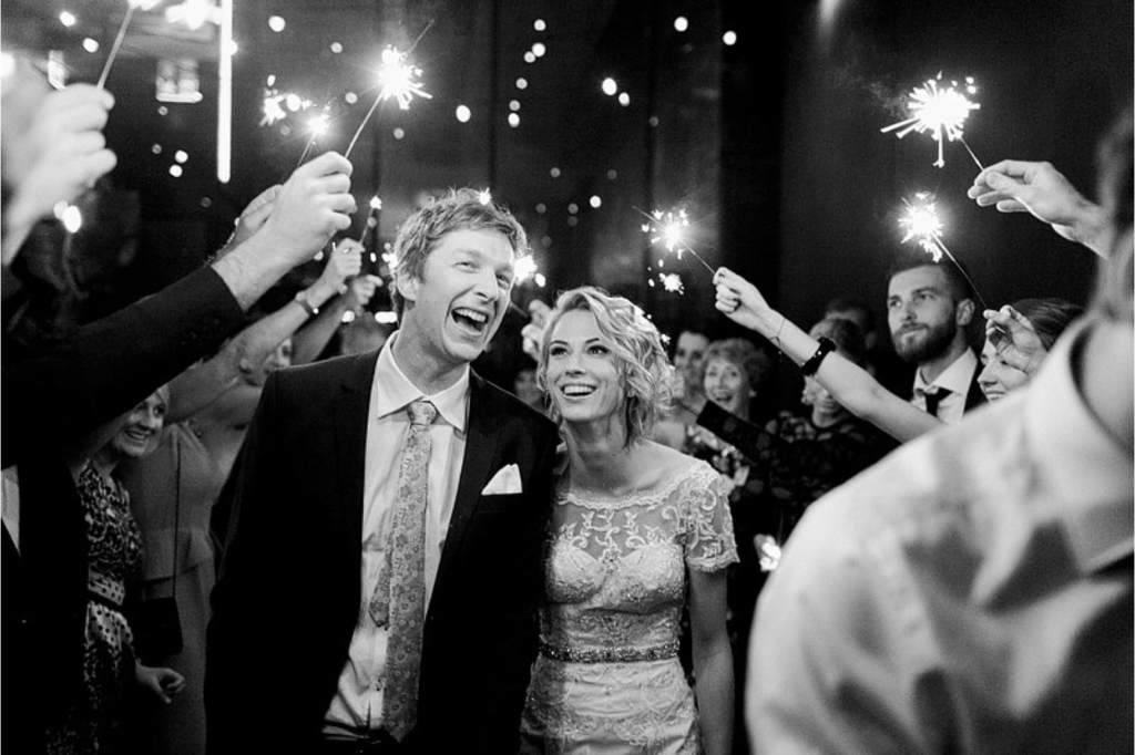 Real Wedding: Caley + Andrew