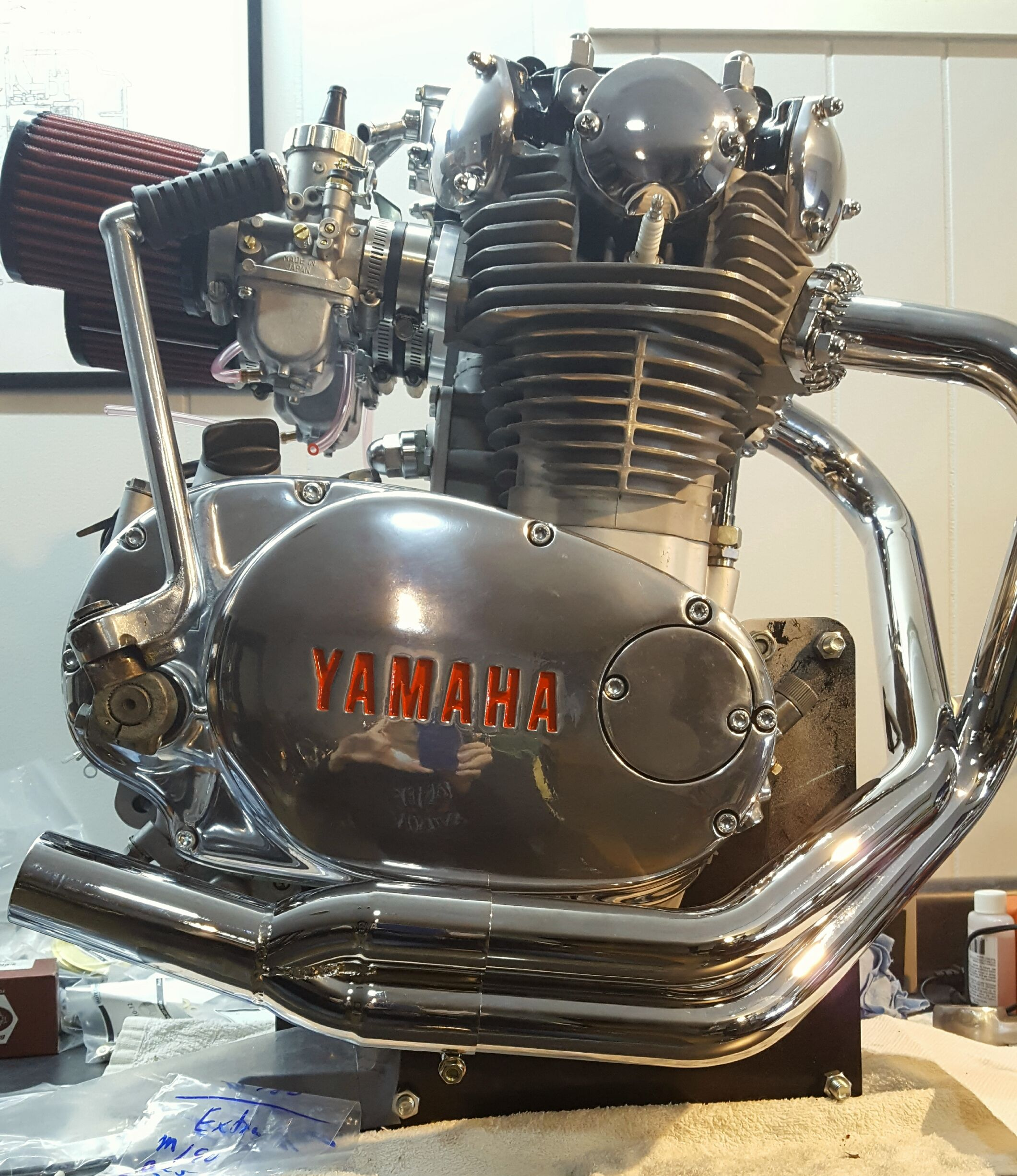 1981 Freshly rebuilt xs650 engine, bored out to 700. New ...