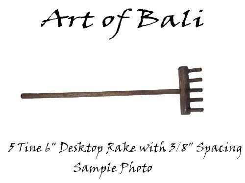 """Art of Bali Zen Garden 5 Tine 3/8"""" Zen Garden Rake - Feng Shui - Buddha Art of Bali http://www.amazon.com/dp/B0044MOJXE/ref=cm_sw_r_pi_dp_eDXRtb11958HGW1G"""