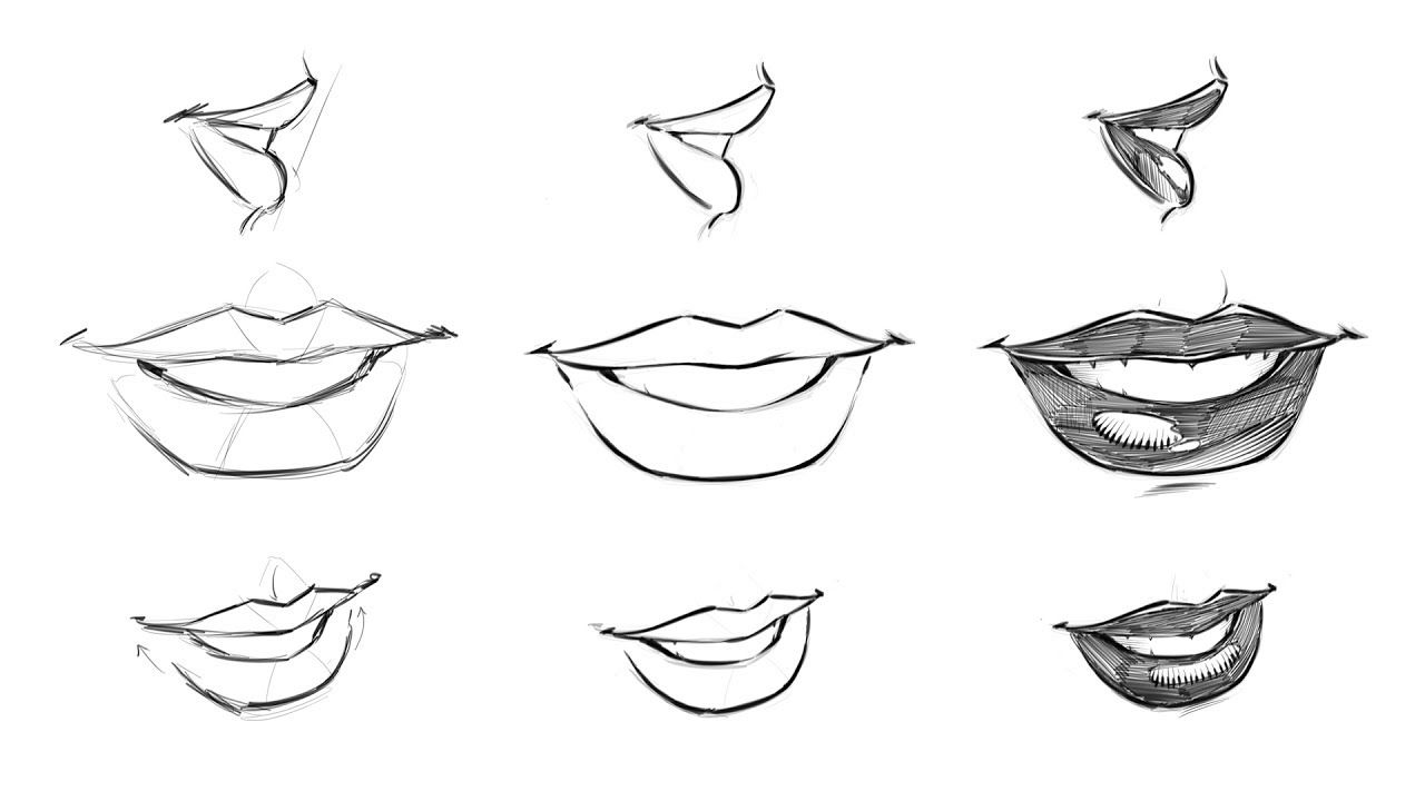 How To Draw Comic Style Female Lips Step By Step Comic Drawing Comic Book Art Style Comic Style Art